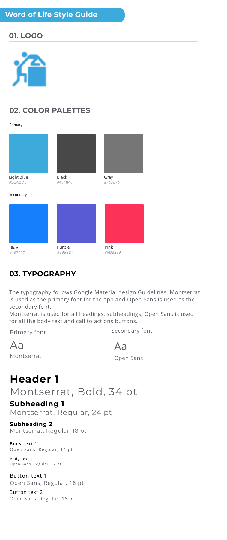 Style guide Copy